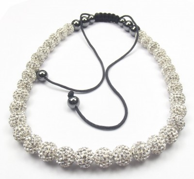 Crystal ION Shamballa Necklace - 45 Beads