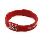Red & White ION Band