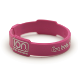 Pink & White ION Band